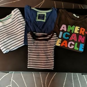 American Eagle bundle of four t-shirts